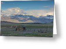 Old Farmland Greeting Card