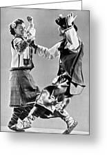 Ukrainian Folk Dancers Greeting Card