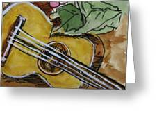 Ukulele One Greeting Card