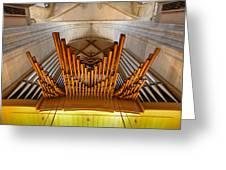 Ulm Pipe Organ Greeting Card