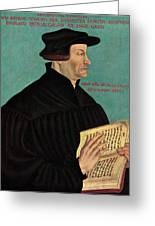Ulrich Zwingli Greeting Card