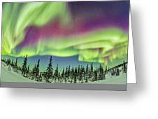 Ultrawide Aurora 4 - Feb 21, 2015 Greeting Card