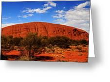 Uluru Central Australia Greeting Card