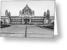 Umaid Bhawan Palace Monochrome Greeting Card