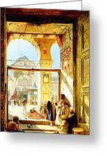 Umayyad Mosque Greeting Card