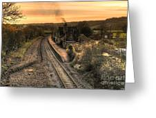 Umberleigh Station  Greeting Card