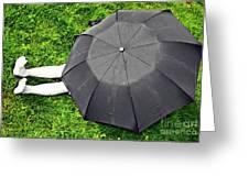 Umbrella Dreams Greeting Card