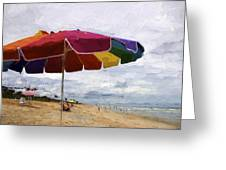 Umbrella Time Greeting Card