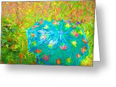 Umbrellacolor Greeting Card