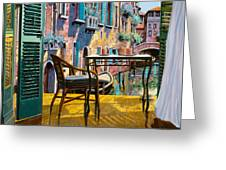 Un Soggiorno A Venezia Painting by Guido Borelli