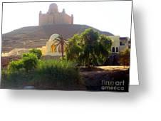Una Moschea Nel Deserto Greeting Card