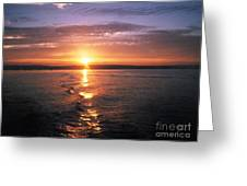 Unbelievable Sunrise Greeting Card