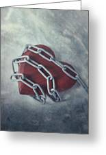 Unchain My Heart Greeting Card by Joana Kruse