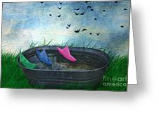 Uncharted Waters Greeting Card