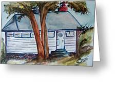 Uncle Bills Cottage Greeting Card