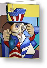 Uncle Sam 2001 Greeting Card