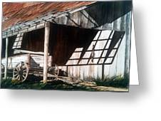 Uncle Seifs Wagon  Greeting Card by Don F  Bradford