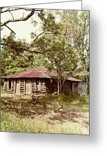 Uncle Toms Cabin Brookhaven Mississippi Greeting Card