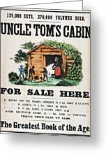Uncle Tom's Cabin, C1860 Greeting Card