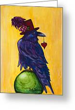 Uncommon Raven Love 1 Greeting Card