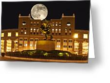 Unconquered Doak Campbell Full Moon Greeting Card