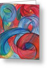 Uncovered Curves-vertical Greeting Card by Kelly K H B
