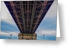 Under 59th Street Bridge Greeting Card