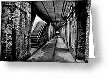 Under Alcatraz Greeting Card by Benjamin Yeager