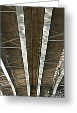 Under Overpass Greeting Card