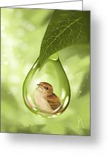 Under Protection Greeting Card