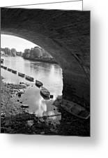 Under Richmond Bridge Greeting Card