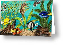Under Sea Paradise Greeting Card