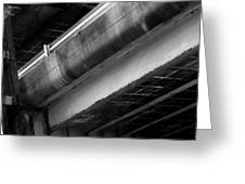 Under Structure 1 Greeting Card