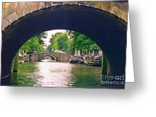 Under The Canals Greeting Card