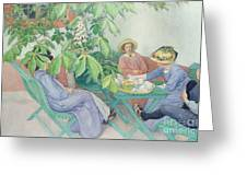 Under The Chestnut Tree Greeting Card