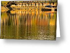 Under The Dock Greeting Card