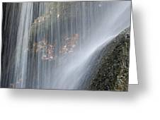 Under The Falls Greeting Card