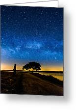 Under The Milky Way II Greeting Card