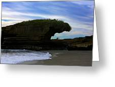 Under The Overhang #2 Greeting Card