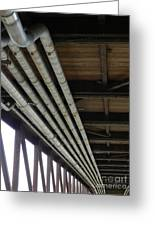 Under The Riverfront 3 Greeting Card