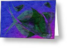 Under The Sea Painterly Greeting Card