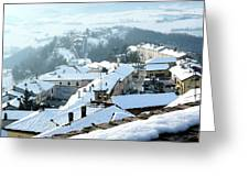 Under The Snow Greeting Card