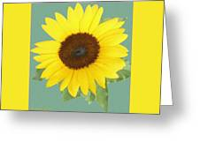 Under The Sunflower's Spell Greeting Card