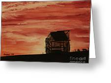 Under The Sunset Greeting Card