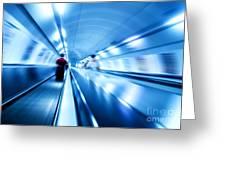 Underground Motion Greeting Card