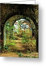 Underneath The Railway Arches Greeting Card