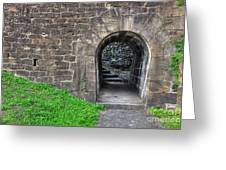 Underpass Greeting Card