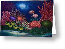 Undersea Creatures Vi Greeting Card