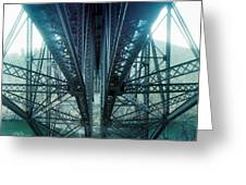 Underside Of A Bridge, Hudson Valley Greeting Card