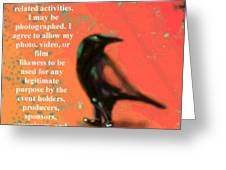 Understanding Corvus Greeting Card
